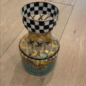 MacKenzie Childs vase